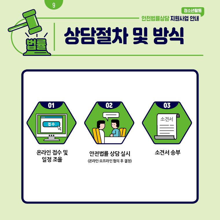 청소년활동 안전법률상담 지원사업 안내 카드뉴스 9