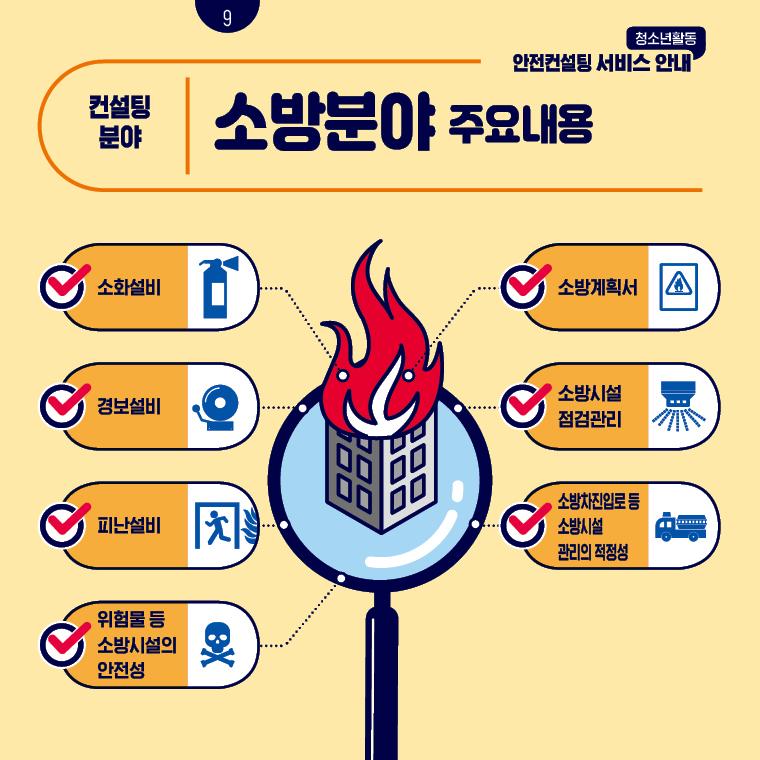 청소년활동안전컨설팅 서비스 안내 카드뉴스 9